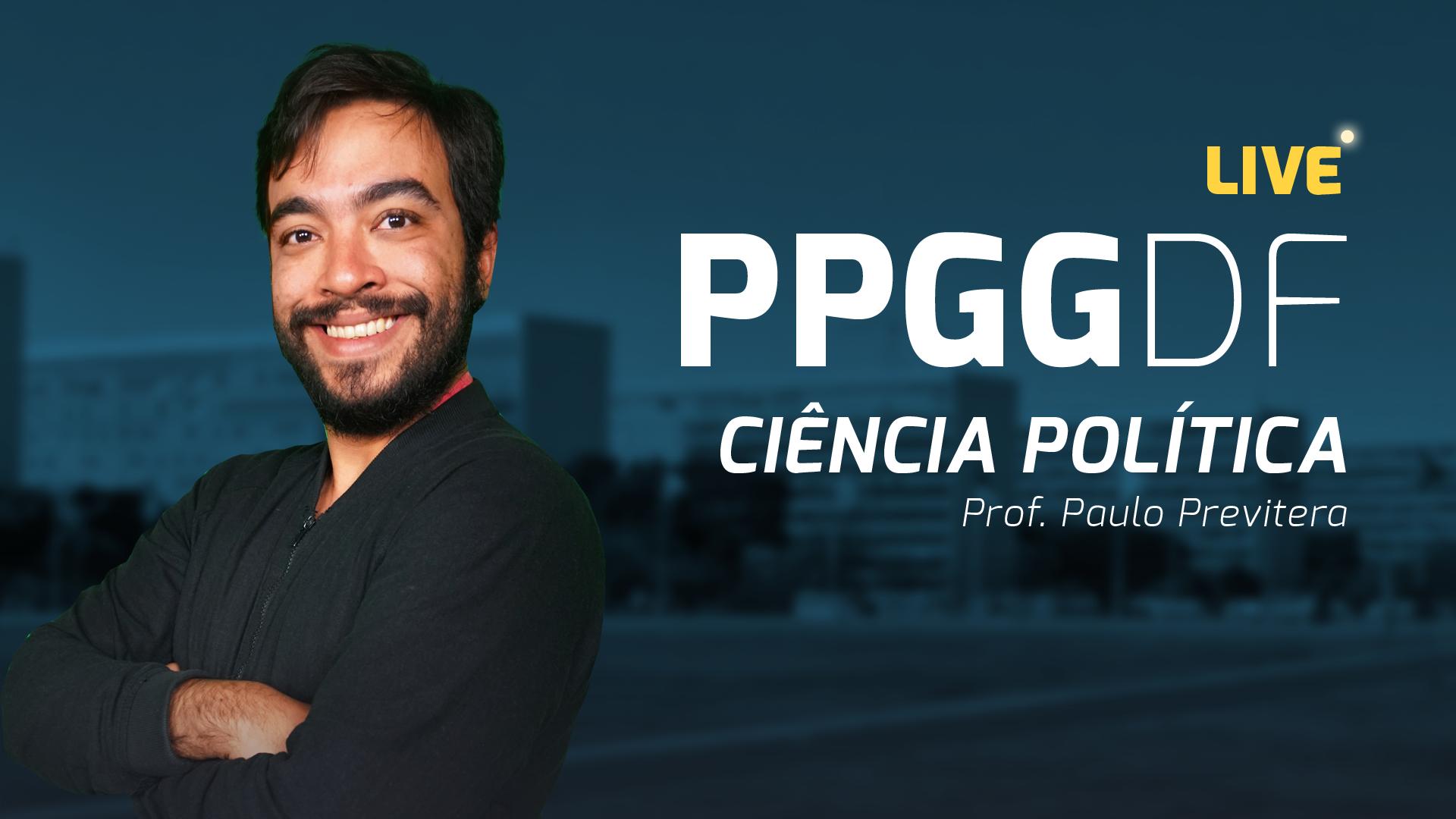 Lives PPGG - Ciência Politica