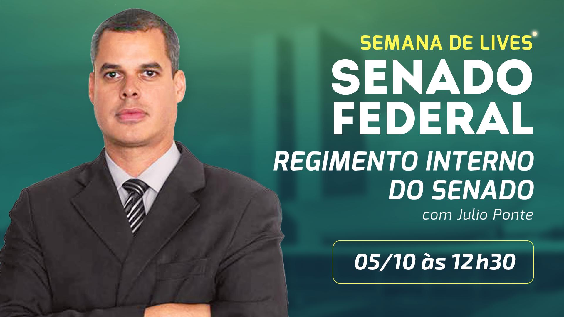 Senado Federal -  Regimento Interno do Senado