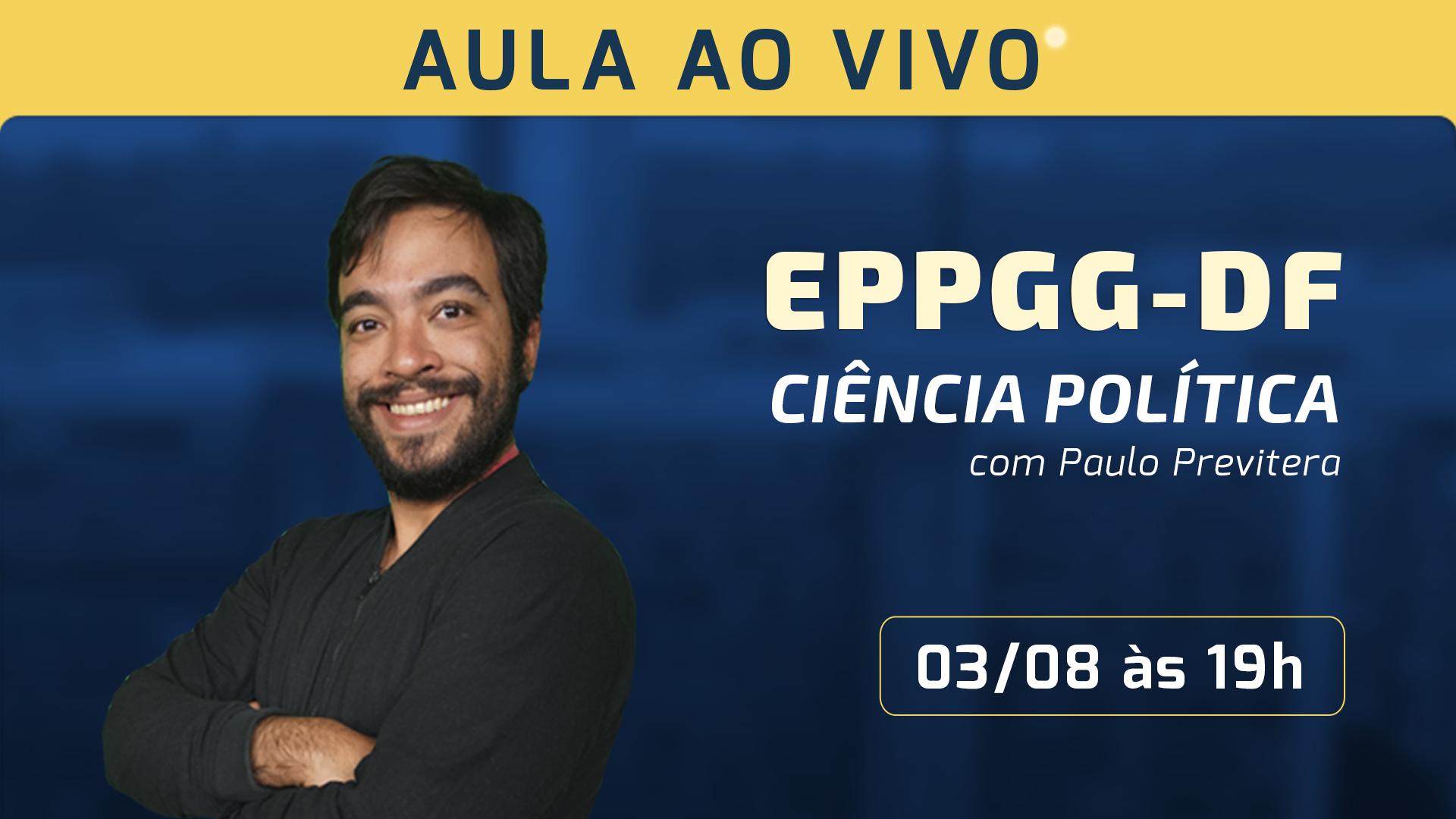 Ciência Política no Concurso da EPPGG-DF