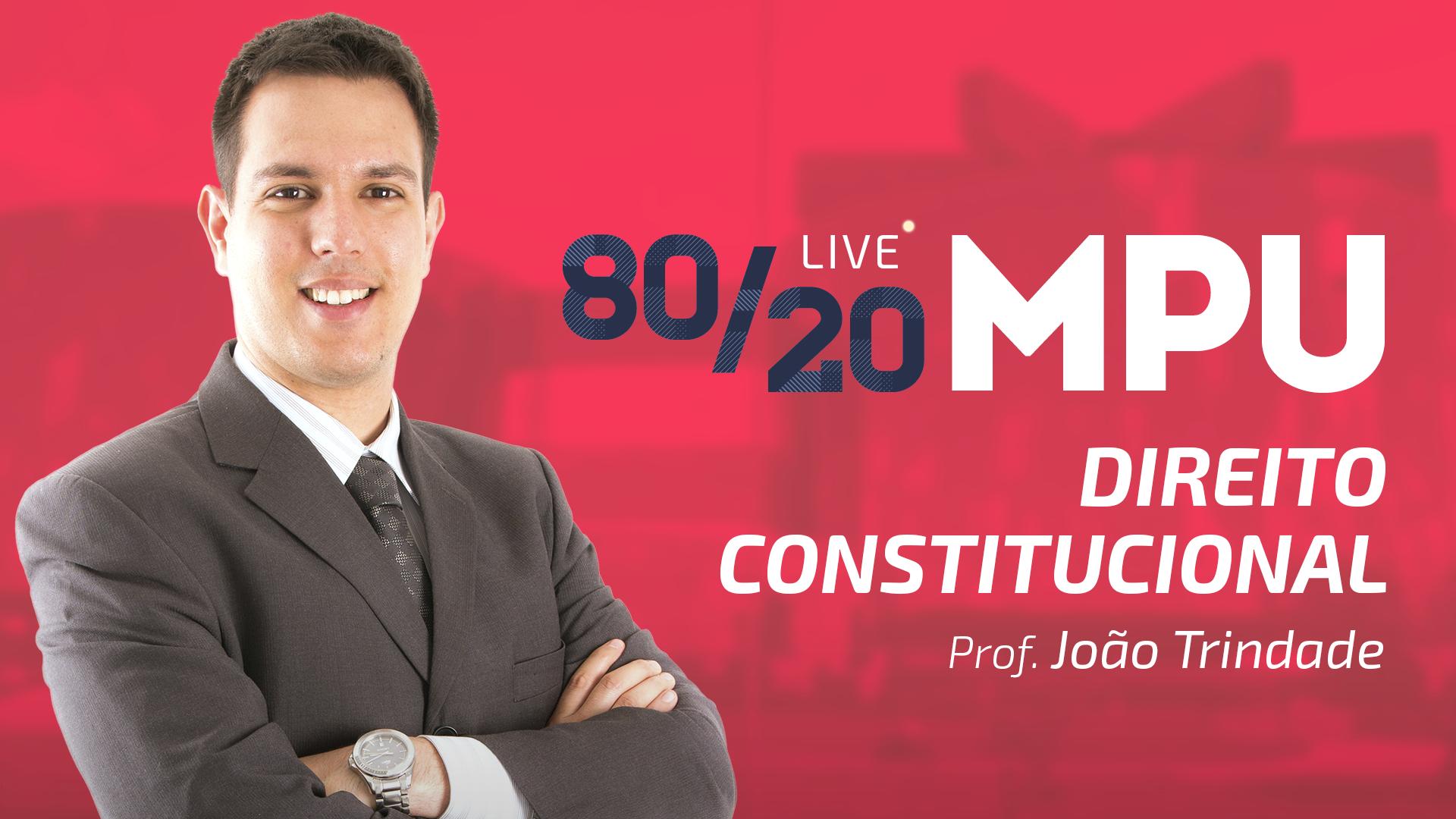 80/20 MPU Direito Constitucional para Técnico e Analista
