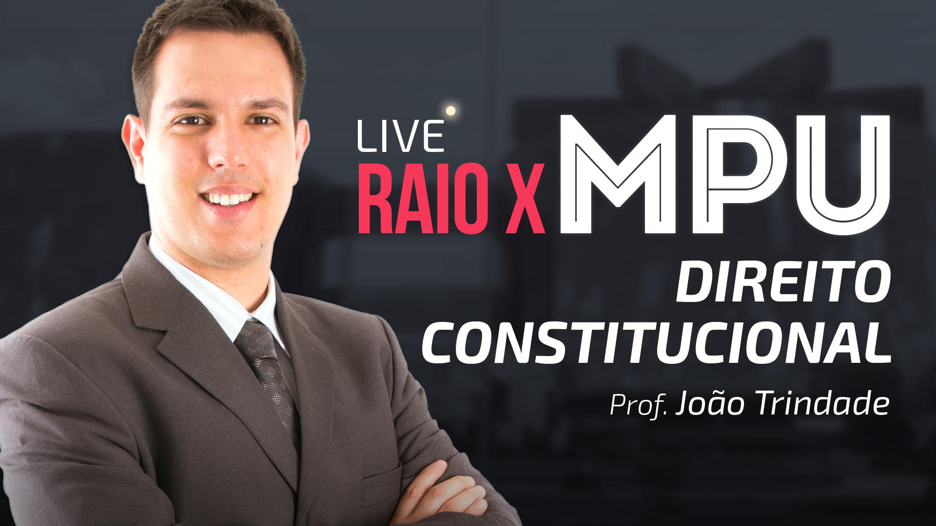 RAIO X MPU - Direito Constitucional para Técnico e Analista