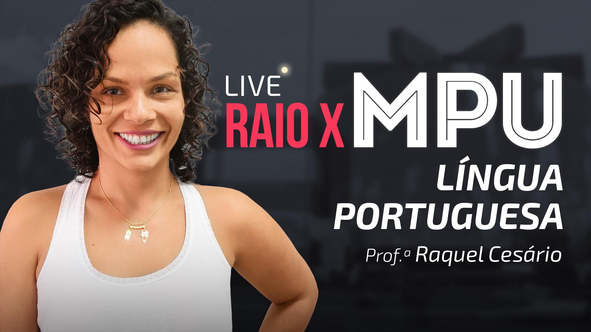 RAIO X MPU - Língua Portuguesa para Técnico e Analista