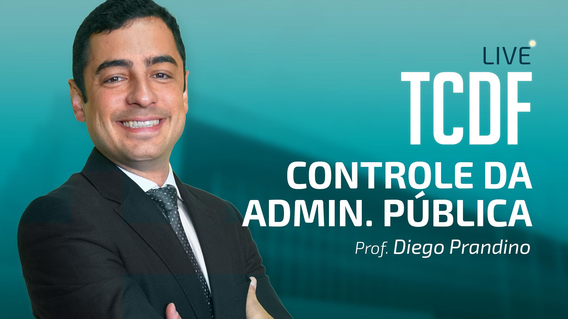TCDF - Auditor - Controle da Administração Pública