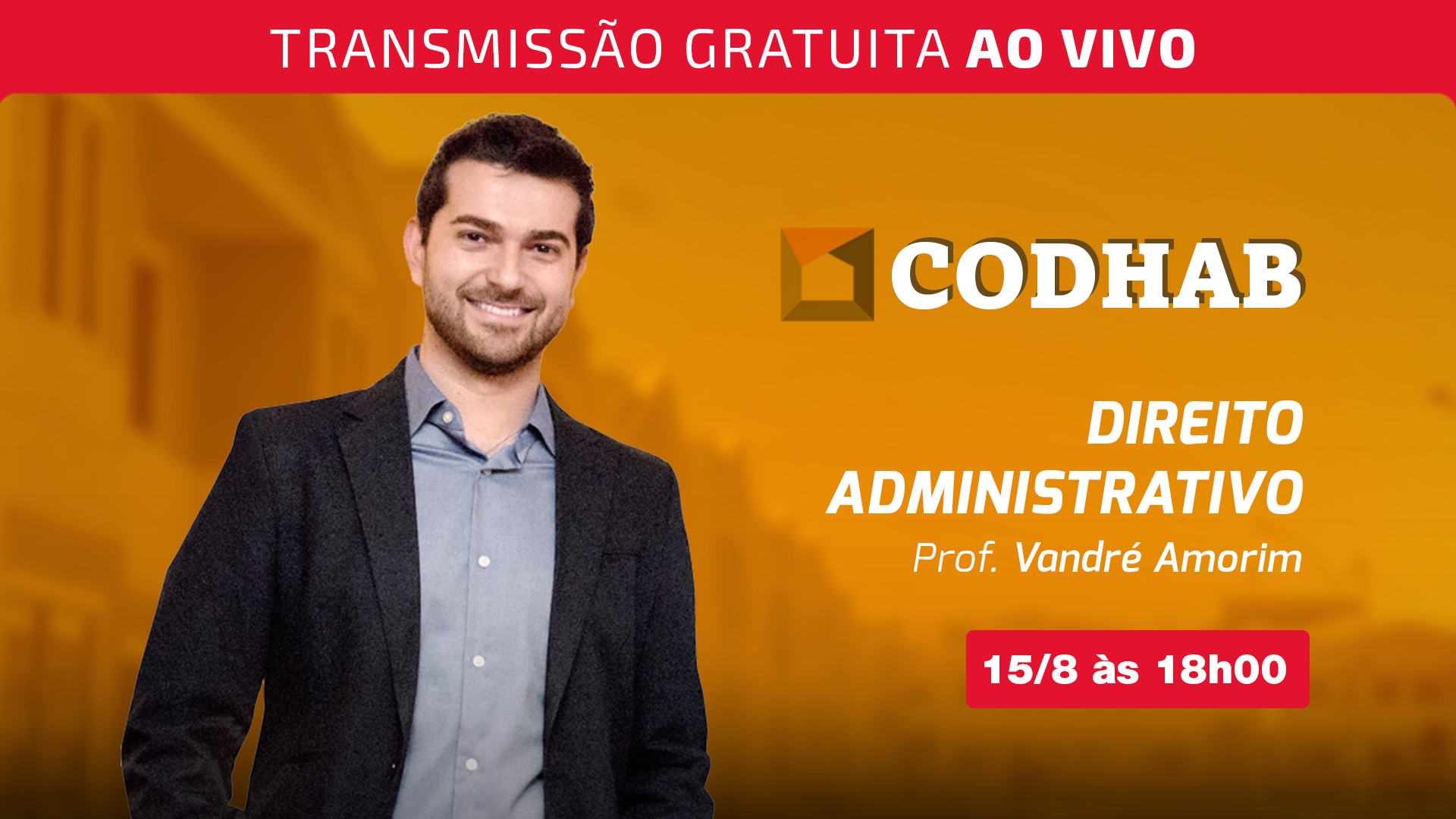Semana CODHAB - Direito Administrativo