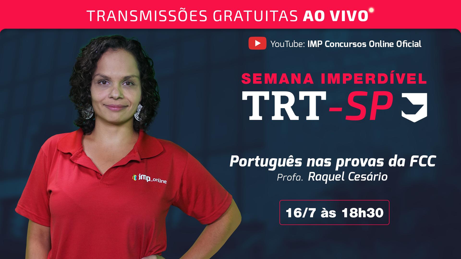 Aulão de Revisão - Português nas provas da FCC
